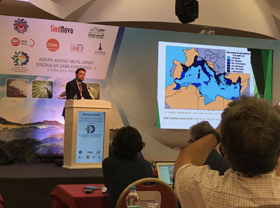 Terza Conferenza permanente Europea – Mediterranea delle Metal Industry Unions